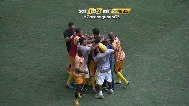 Brasiliense vence o Sobradinho no Mané Garrincha - Gol da vitória foi marcado por Souza, no último lance do jogo.