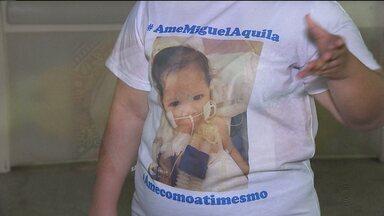 Mãe passa a morar em hospital para cuidar de filho com AME - Atrofia Muscular Espinhal é um síndrome rara. Veja mais casos na Paraíba.