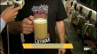 Encontro reúne mestres cervejeiros e gastronomia em Ponta Grossa - Evento segue até domingo, no Jockey Club; veja também outras atrações para o fim de semana