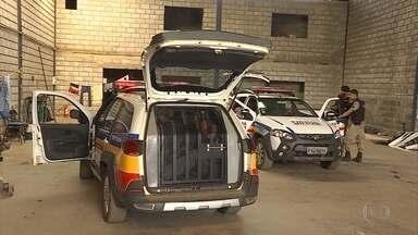 Barras de maconha são encontradas em galpão na Grande BH - Quatro suspeitos foram presos