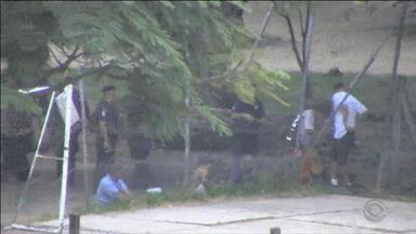 Câmeras ajudam na vigilância da Redenção em Porto Alegre - São mais de vinte câmeras espalhadas pelo parque.