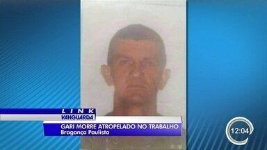 Gari morre atropelado por carro desgovernado em Bragança Paulista - Motorista não tinha habilitação.