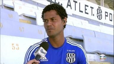 Elton promete muita luta da Ponte Preta na busca pelo inédito título paulista - Jogador da Macaca não esconde a ansiedade do time de Campinas para decidir o estadual com o Corinthians
