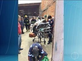 Homem que teve 80% do corpo queimado morre em hospital de Montes Claros - Gerente de supermercado acompanhava técnico em manutenção quando o motor do refrigerador explodiu.