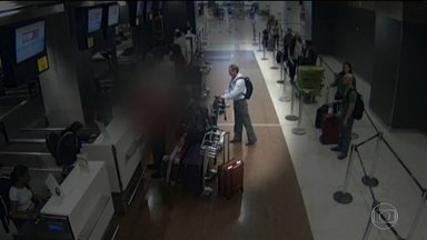 Cresce o número de furtos no Aeroporto de Cumbica, em São Paulo - Ladrões têm roubado as bagagens de passageiros no Aeroporto de Congonhas.