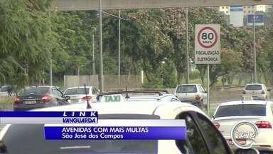 Avenidas com maior número de multas em São José estão na zona sul - Motoristas da região estão entre os mais apressados.