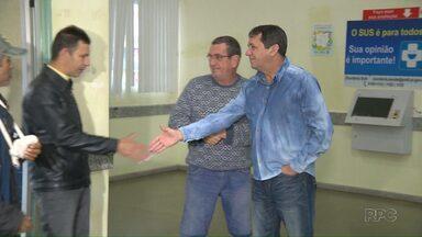 Em primeiro dia no cargo, Chico Brasileiro visita a UPA do Jardim das Palmeiras - Prefeito empossado ontem anunciou secretários e fez uma visita à UPA.