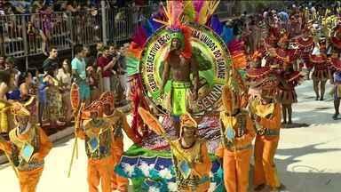 Resultado da escola campeã do carnaval de Colatina será divulgado nesta terça-feira (2) - Festa foi realizada fora de época por conta da greve dos PM's em fevereiro deste ano.