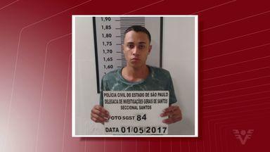 Polícia investiga morte de agente penitenciário em Santos, SP - Duas pessoas foram presas