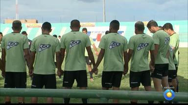 Sousa se reapresenta e inicia a preparação para o Brasileiro da Série D - Índio Ferreira segue no comando do Dinossauro para a competição nacional