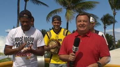 'Resenha com o Thithi' passa por clube no bairro de Piatã - Confira o quadro especial do globo esporte Bahia.