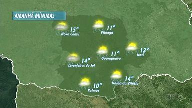 Quarta-feira deve ser chuvosa na região - Confira a previsão do tempo.