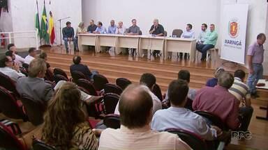 Moradores e representantes da Prefeitura discutem duplicação a Avenida Carlos Borges - O asfalto comunitário foi descartado, mas um novo projeto ainda não está definido.
