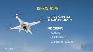 Anac anuncia novas regras para uso de drones - Regulamentação foi publicada nesta quarta-feira (3) com objetivo de aumentar a segurança.