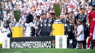"Perto da taça, Corinthians treina forte para evitar clima de ""já ganhou"" - Perto da taça, Corinthians treina forte para evitar clima de ""já ganhou"""