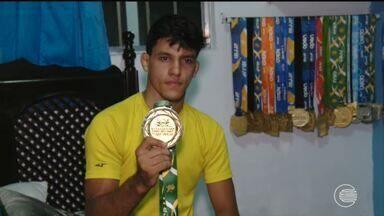 Piauiense é pentacampeão brasileiro de Jiu-jítsu e coleciona medalhas - Piauiense é pentacampeão brasileiro de Jiu-jítsu e coleciona medalhas