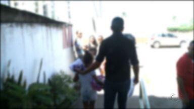 Criança vítima de tentativa de estupro passa por exames no Instituto de Medicina Legal - Suspeito foi preso em flagrante na feirinha do Tabuleiro.