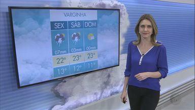 Confira a previsão do tempo para esta sexta-feira (5) no Sul de Minas - Confira a previsão do tempo para esta sexta-feira (5) no Sul de Minas