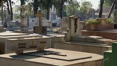 Ministério Público investiga doação de túmulo em cemitério de Alfenas (MG) - Ministério Público investiga doação de túmulo em cemitério de Alfenas (MG)