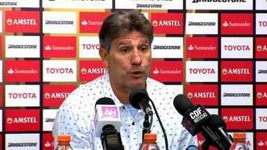 Apesar da derrota no Chile, Grêmio mantém liderança no grupo 8 da Libertadores - Assista ao vídeo.