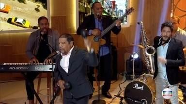 Fátima Bernardes e Fernanda de Freitas dançam salsa - Fernando Ferrer e Pepe Cisneros levam a música cubana para o palco do 'Encontro'
