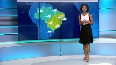 Sul do país deve ter sábado (13) de muita chuva - Porto Alegre deve receber a chuva logo cedo e o sol não deve aparecer por lá.