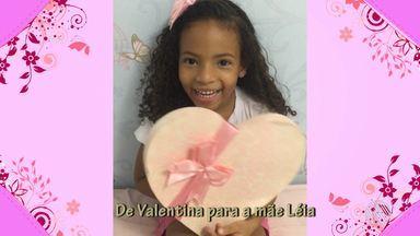 Telespectadores enviam imagens em homenagem às mães - Crianças e adultos declaram o amor na véspera do Dia das Mães.