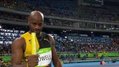 10 segundos a grande barreira: Asafa Powell - 10 segundos a grande barreira: Asafa Powell