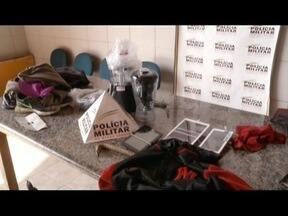 Jovens são detidos em loja de Coronel Fabriciano suspeitos de furto - Grupo teria roubado eletrodomésticos.