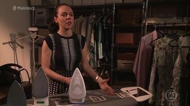 Confira dicas para passar roupas sem dor de cabeça - Ingrid Lisboa é especialista em passadoria e conversa com o 'Mais Você'