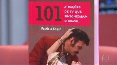 Jornalista Patrícia Kogut lança livro com histórias de atrações da TV brasileira - Para jornalista livro é uma mistura de nostalgia, pesquisa e memória. Entre as atrações da TV estão novelas, séries, programas infanrtis, de esporte, entre outros. Lançamento é nesta quarta-feira (17) na livraria da Travessa, no Leblon.