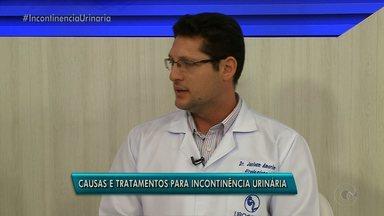 Quadro Saúde do GRTV fala sobre a incontinência Urinária ( Parte 1) - Urologista explica as causas e os tratamentos para incontinência urinária.
