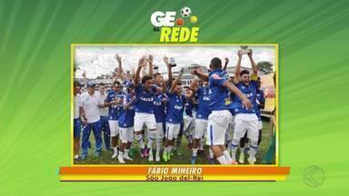 GE na Rede destaca vitória do Cruzeiro no quadrangular sub-20 de São João del Rei - Equipe empata um jogo, vence dois e garante o título. Imagens mostram a festa do time.
