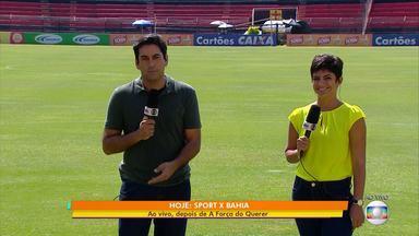 Confira a edição especial do GE em virtude da final da Copa do Nordeste - Bahia e Sport se enfrentam nesta quarta-feira (17), na Ilha do Retiro.