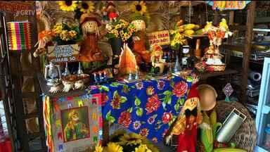 Comerciantes se preparam para São João - A expectativa para as vendas no período junino é grande