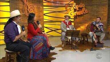 Gabriel Selvage diz que obra de Marenco influenciou na sua vida musical - Assista ao vídeo.