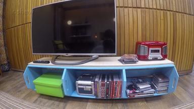 Aprenda a fazer um rack com caixotes - Confira!
