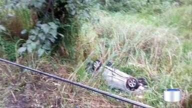 Região teve vários acidentes de trânsito - Chuva foi o principal motivo.