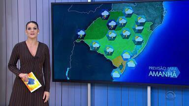 Tempo: terça-feira (23) será de chuva no RS - Tempo permanece firme no Sul do estado.