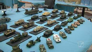 Encontro de colecionadores reúne artistas e exposição de miniaturas em Santarém - Encontro é realizado a cada seis meses e reúne muitos adeptos da arte e do hobbie.