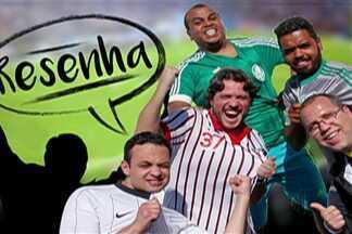Resenha: garotinhos comentam rodada do final de semana - Torcedores comentam, com bom humor, partidas dos principais times paulistas.