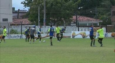 Botafogo-PB volta aos treinos pensando em reabilitação contra o CSA - Jogadores do Belo se reapresentaram nesta segunda-feira após a derrota para o Fortaleza na Série C