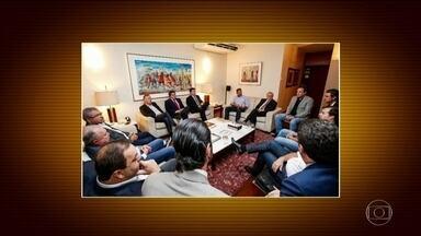 Tramitação das reformas é discutida por líderes políticos com presidente da Câmara - Reunião foi para tratar do andamento das reformas que tiveram o andamento suspenso com a crise deflagrada pelas delações da JBS.
