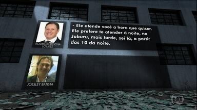 Encontro entre Temer e Joesley Batista foi agendado por Rocha Loures, mostram gravações - Nesse encontro no porão, Loures foi o interlocutor indicado pelo presidente Temer para falar sobre interesses do empresário no governo.