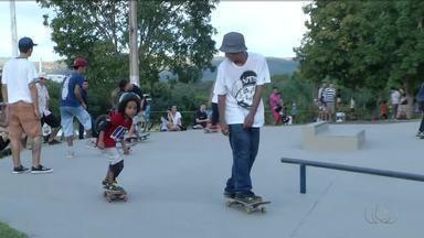Campeonato de skate amador agita parque Cesamar em Palmas - Campeonato de skate amador agita parque Cesamar em Palmas