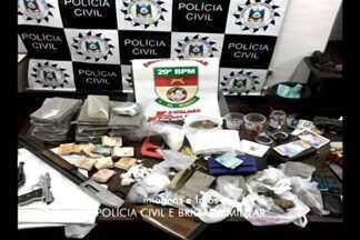 Operação resposta em Ijuí,RS, resulta na prisão de 9 pessoas - Ação conjunta entre os orgãos de segurança pública e o ministério público de Ijuí,RS, foi realizada na manhã de sábado.