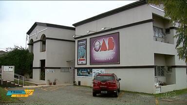 OAB pede abertura de ações contra prefeito de Ponta Grossa e ex-secretários do município - Além do prefeito Marcelo Rangel e dos ex-secretários municipais, a OAB pede também ação contra uma empresa por causa da situação do aterro da cidade.