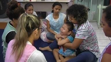 Na Apae, estimulação precoce é determinante para o futuro de crianças e suas famílias - Apae Santarém faz atendimentos especiais para crianças atendidas pela instituição.