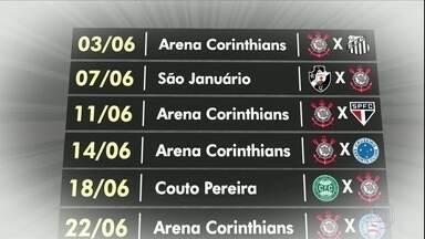 Corinthians enfrenta tabela difícil no Brasileirão para provar sua força - Corinthians enfrenta tabela difícil no Brasileirão para provar sua força