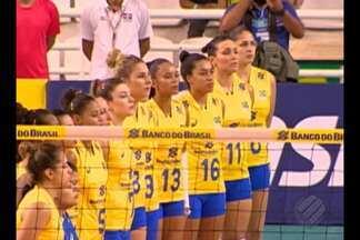 Seleção Feminina de Vôlei joga nesta quinta-feira em Belém - Seleção Feminina de Vôlei joga nesta quinta-feira em Belém